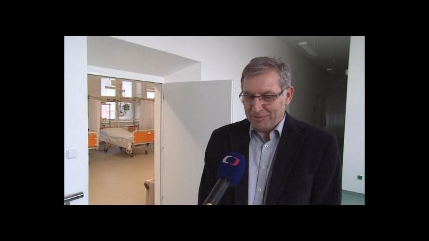 Video O novém oddělení hovoří ředitel nemocnice Petr Michna