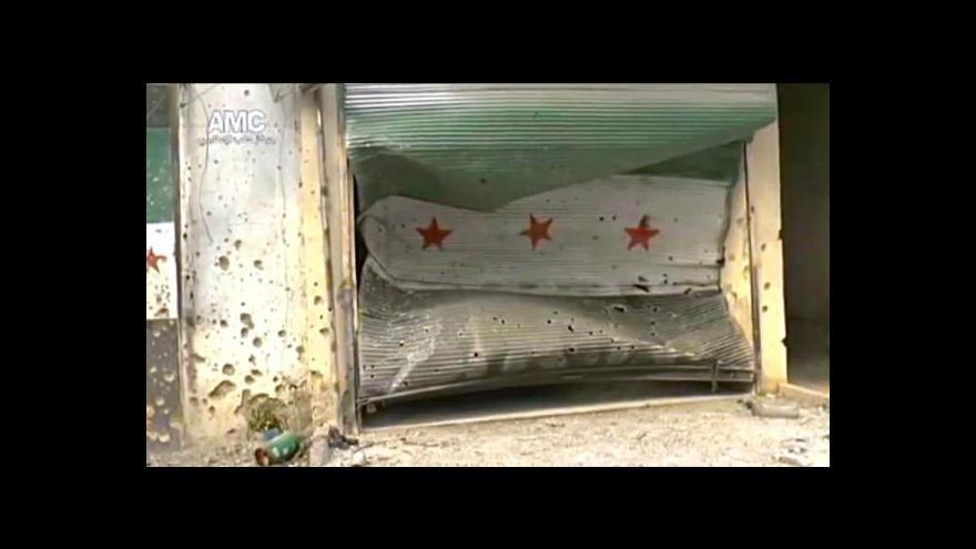 Video Člověk v tísni zveřejnil podrobnosti útoku v Aleppu