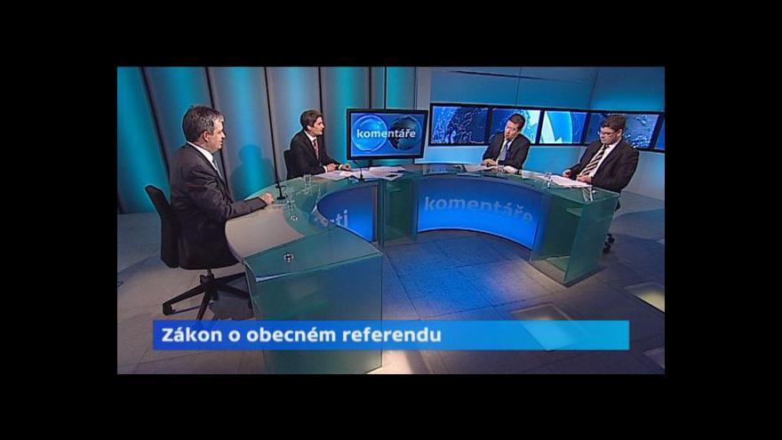 Video Diskuse o referendu: Okamura chce zabránit excesům