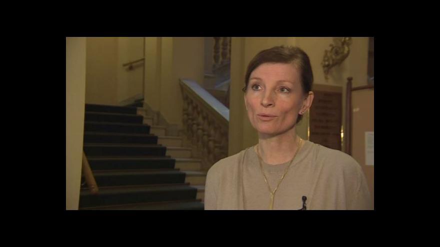 Video Ředitelka Marie Kučerová o dnešním konkurzu