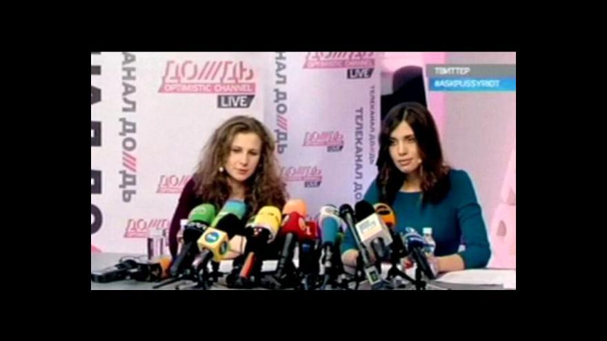 Video Členky Pussy Riot se chtějí zasazovat o lidská práva a lepší věznice