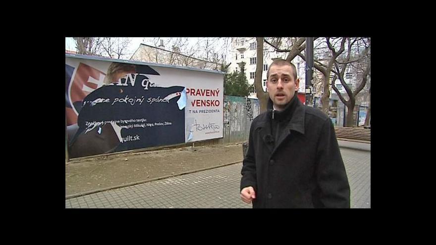 Video Předvolební boj na Slovensku se přiostřuje