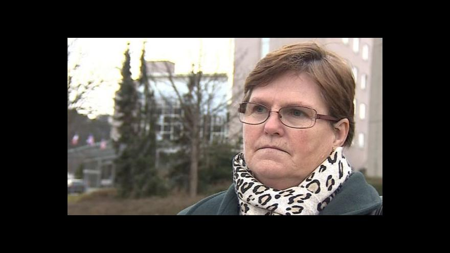 Video Dagmar Rajnochová vystupuje proti kolonádě