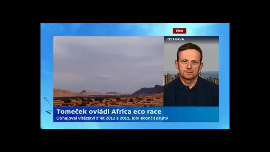 Video Rozhovor se závodníkem Tomášem Tomečkem