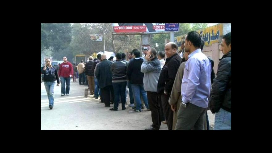 Video Obyvatelé Egypta po 13 měsících opět hlasují o ústavě