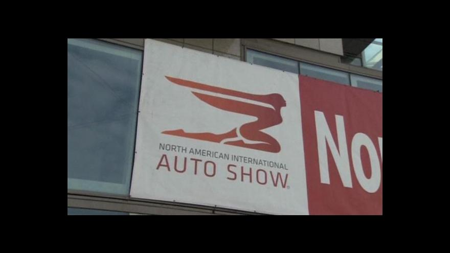 Video Začíná autosalon v Detroitu