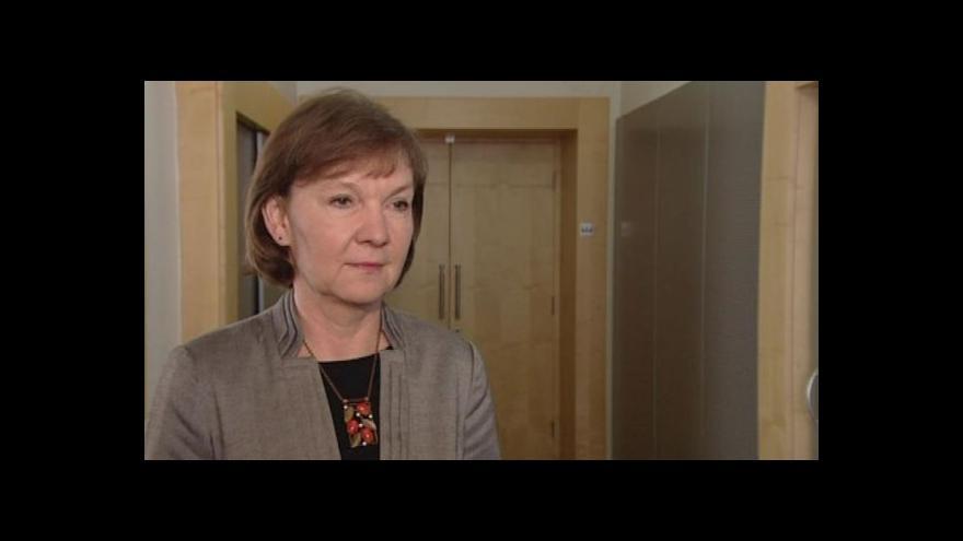 Video Hovoří generální ředitelka Úřadu práce Marie Bílková