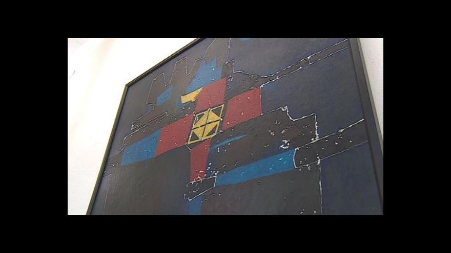 Video Blanenská galerie představuje obrazy svého rodáka
