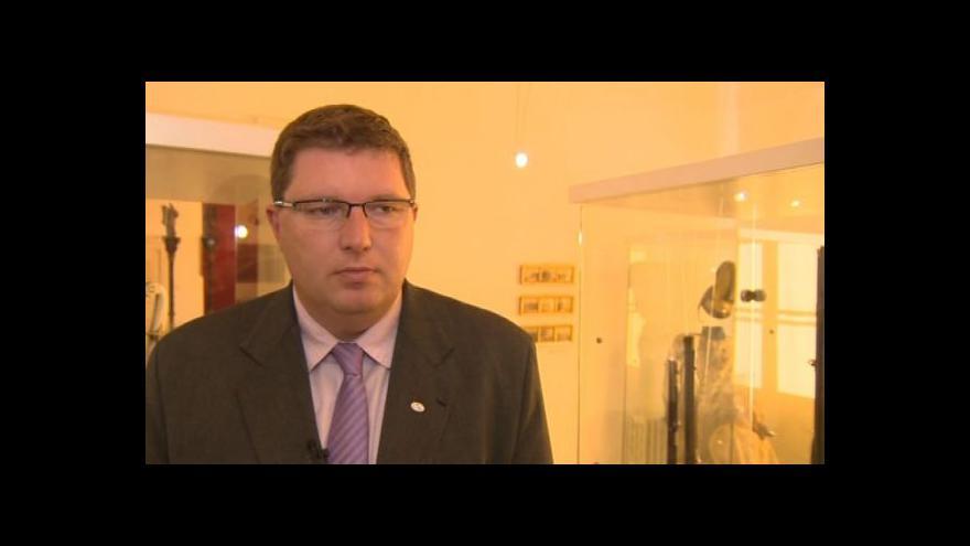 Video Hovoří starosta Moravského Krumlova Tomáš Třetina (TOP 09)