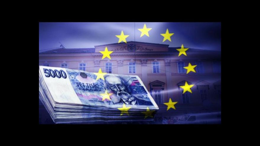 Video Česko zrychlilo čerpání peněz z Bruselu, stále to ale nestačí