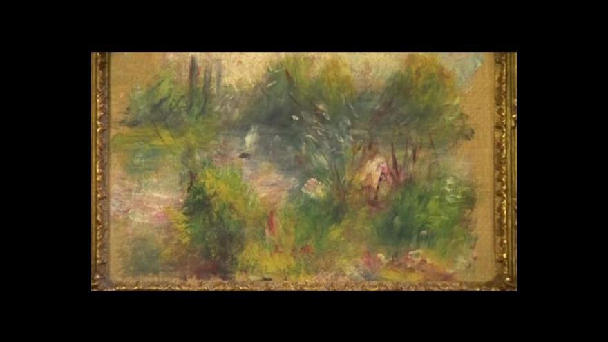 Video Žena koupila na blešáku pravého Renoira, musí ho ale vrátit muzeu