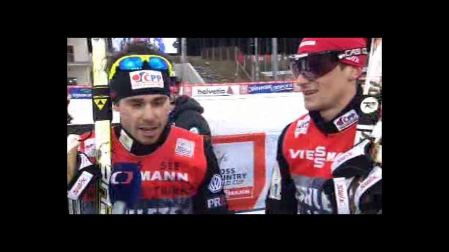 Video Sestřih SP mužů ve sprintu dvojic z Nového Města na Moravě