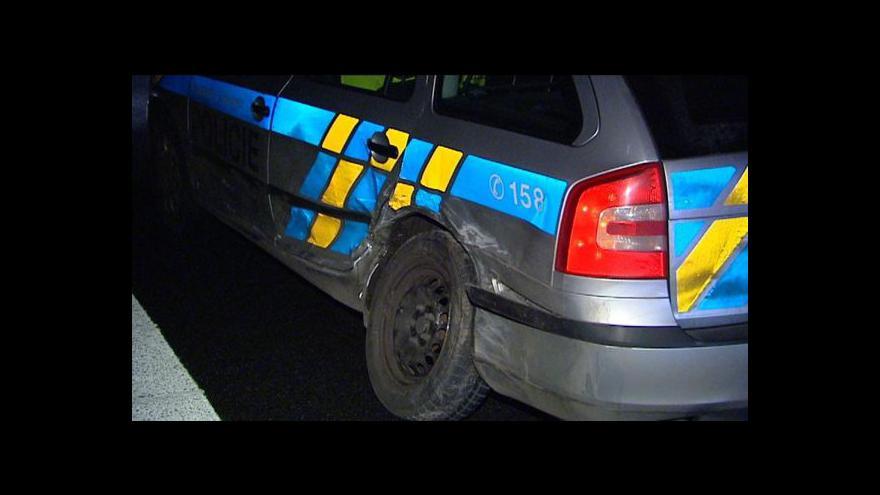 Video Policie stíhala auto z Prahy až do Plzně