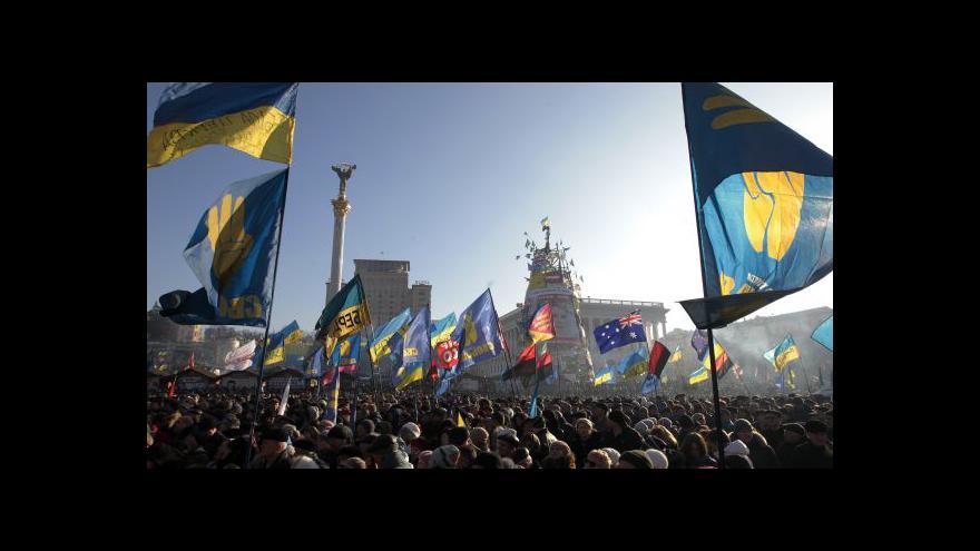 Video Nepokoje v Kyjevě se dál vyostřují