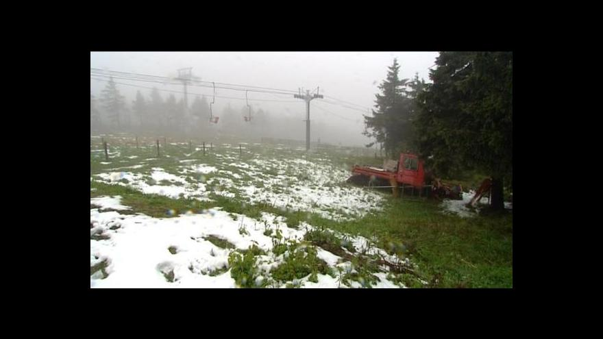 Video Miroslav Güttner o lyžování téměř beze sněhu