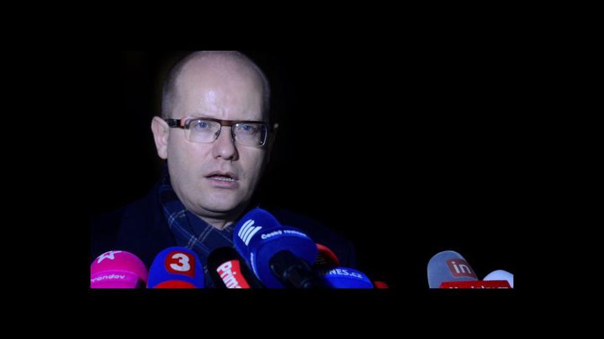Video Sobotka: Prezidentovy výhrady nejsou překážkou pro jmenování ministrů