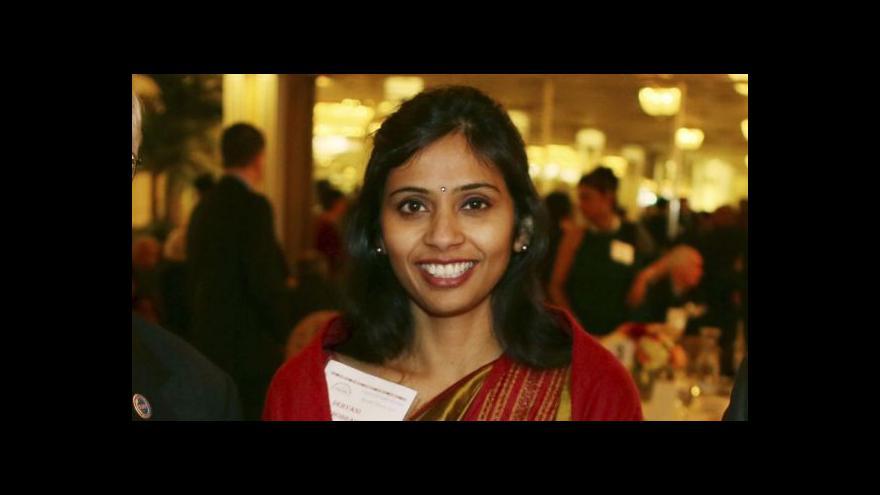 Video Zatčení indické diplomatky ve Spojených státech vyvolalo roztržku obou zemí