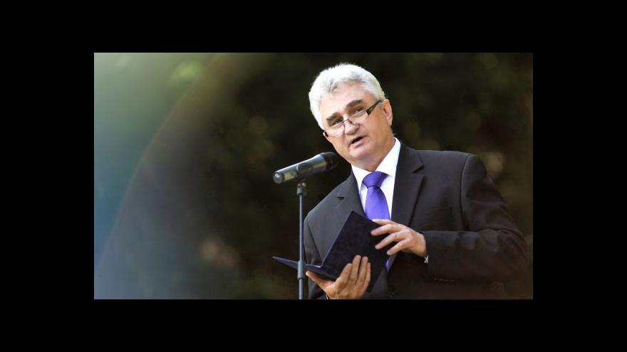 Video Šéf Senátu Štěch: Možnost někoho odmítnout bych neuvyžil