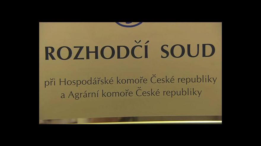 Video Lada Kolovratová z rozhodčího soudu