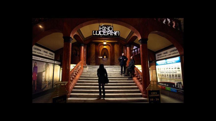 Video Krystyna Wanatowiczová: V kině Lucerna se vracíte v čase