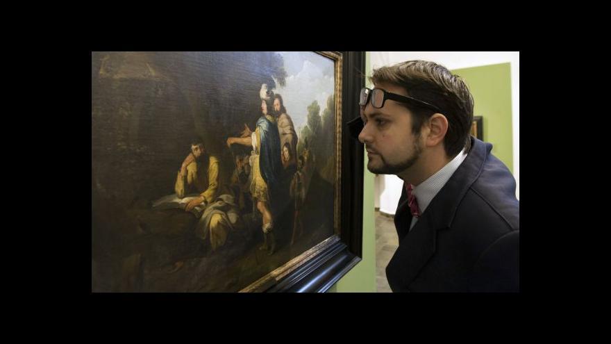 Video Alšova galerie získala obraz Lamberta Jacobsze