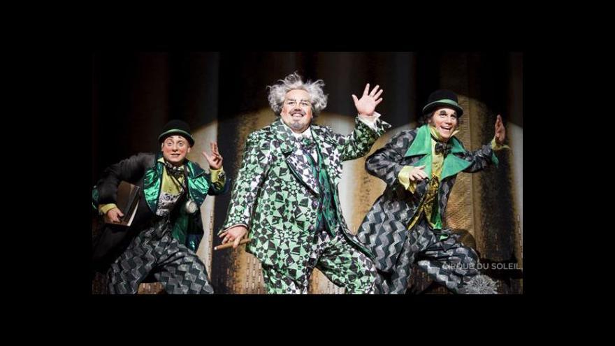 Video Cirque du Soleil zahájil třicátou sezonu