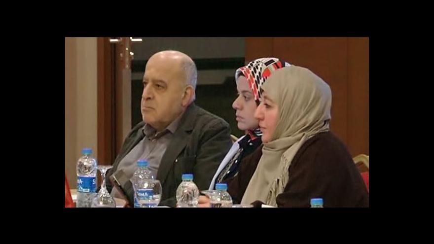 Video Ve Španělsku se schází syrská opozice