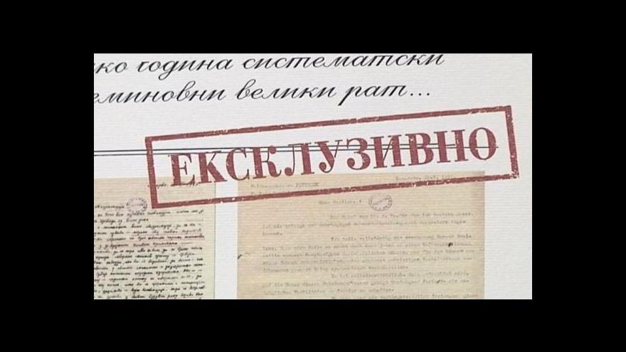 Video Horizont ČT24: Vídeň chtěla válku rok před sarajevským atentátem