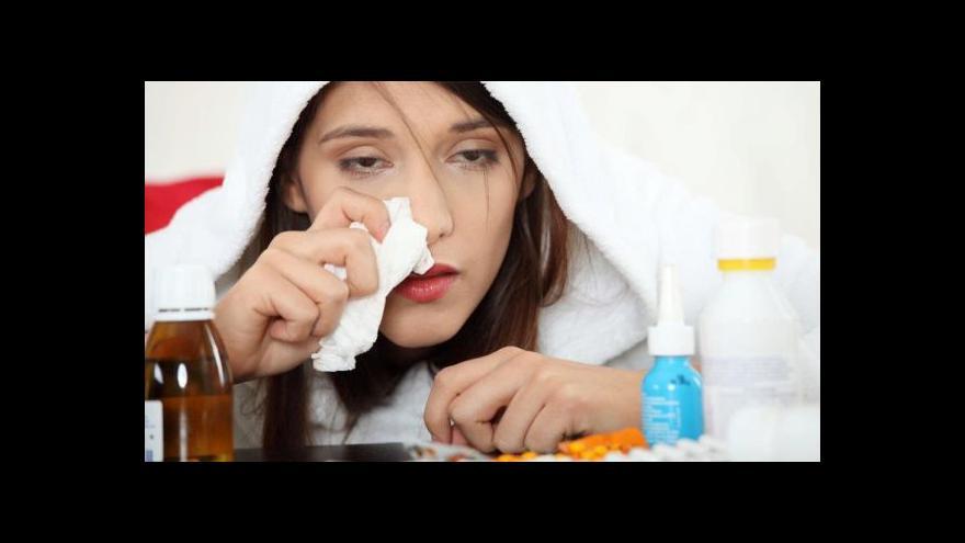 Video S teplejší zimou se rozmáhají virová onemocnění