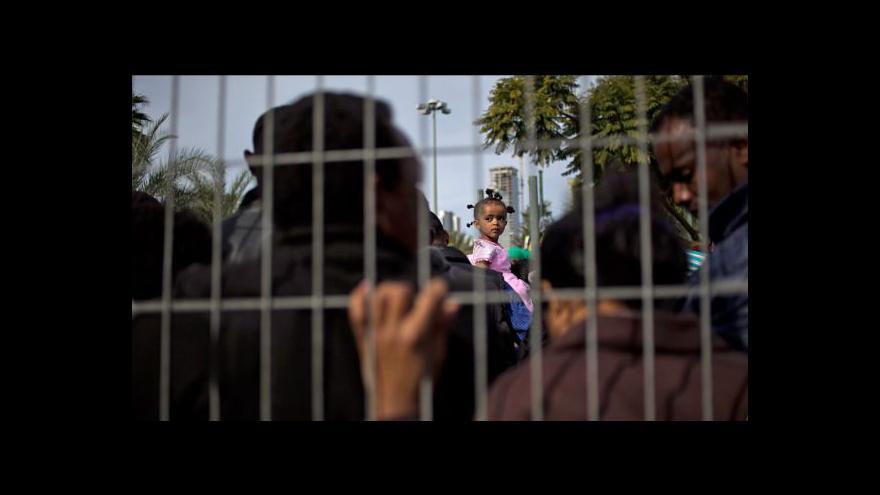 Video Afričané protestují proti izraelské imigrační politice