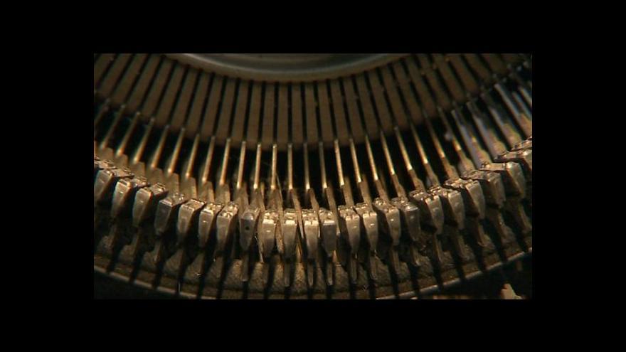 Video Psací stroj slaví 300 let