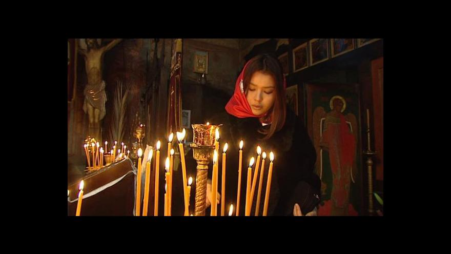 Video Kněz Beránek o pravoslavných Vánocích