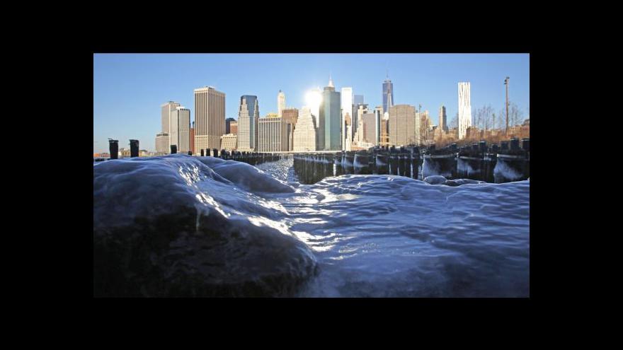 Video Martin Řezníček k arktickým mrazům v USA