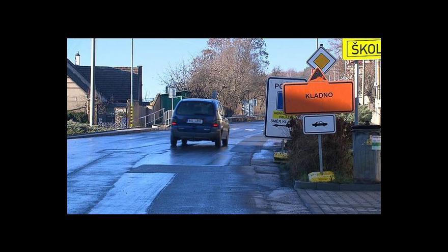 Video Reportáž Lucie Rosí o komplikacích v kladenské dopravě
