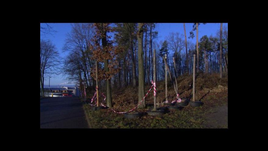 Video Uzavřený lesopark v Dobré Vodě