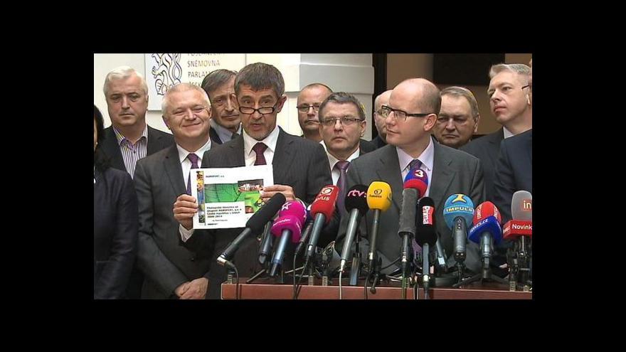 Video Andrej Babiš o Brabcovi na ministerstvu a investicích Agrofertu