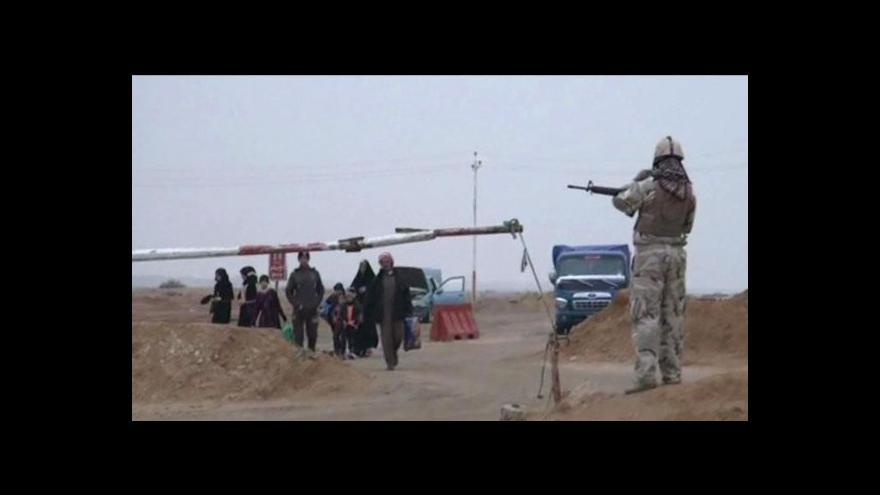 Video Horizont ČT24: Irák bojuje s islámskými radikály