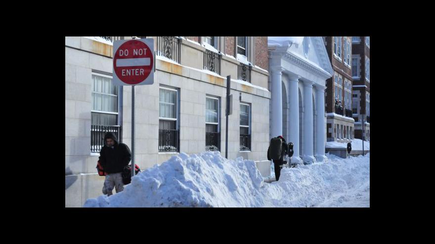 Video V Chicagu padl teplotní rekord