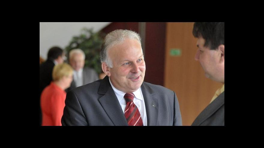 Video Schůzka Bohuslava Sobotky s Petrem Krčálem
