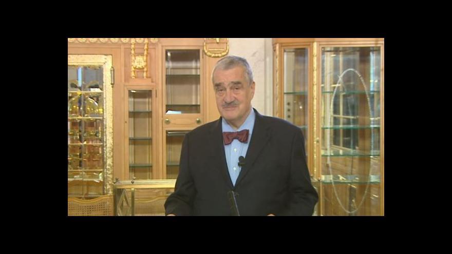 Video Tříkrálový projev předsedy TOP 09 Karla Schwarzenberga