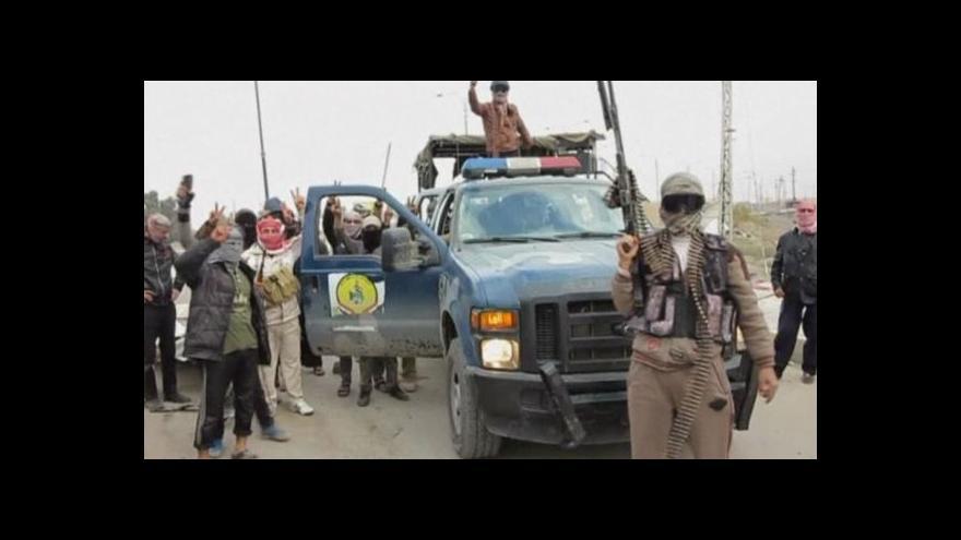 Video V Iráku probíhají tvrdé boje o město Fallúdža