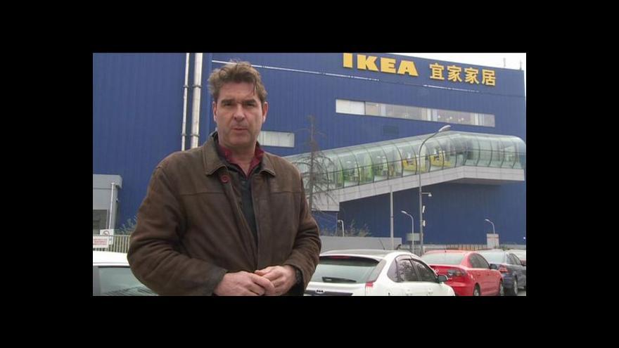Video Horizont ČT24: IKEA má v Číně ohromný úspěch