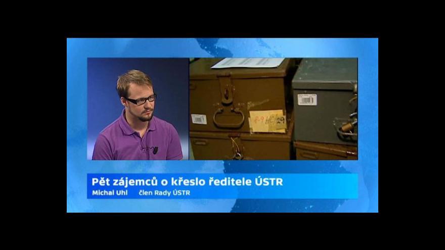 Video Rozhovor se členem Rady ÚSTR Michalem Uhlem