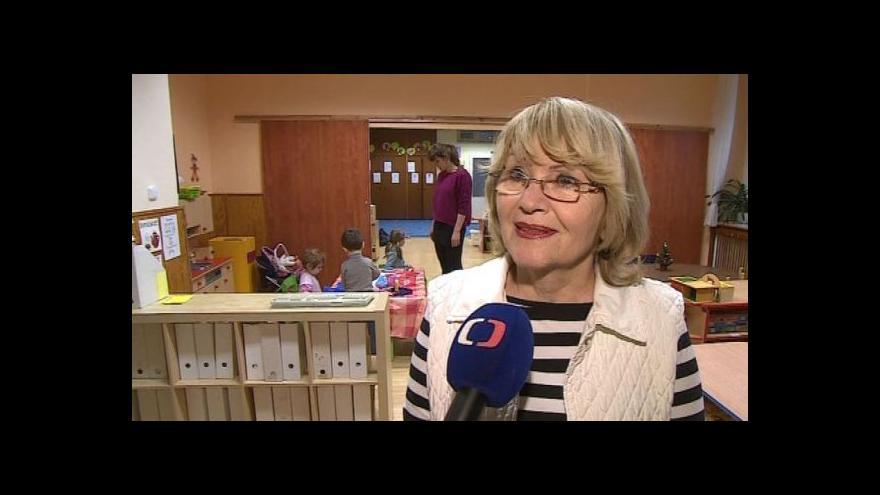 Video Hovoří ředitelka školky Hana Řičicová