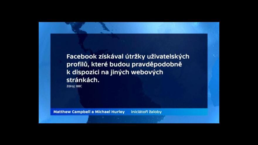 Video Sledování uživatelů Facebooku