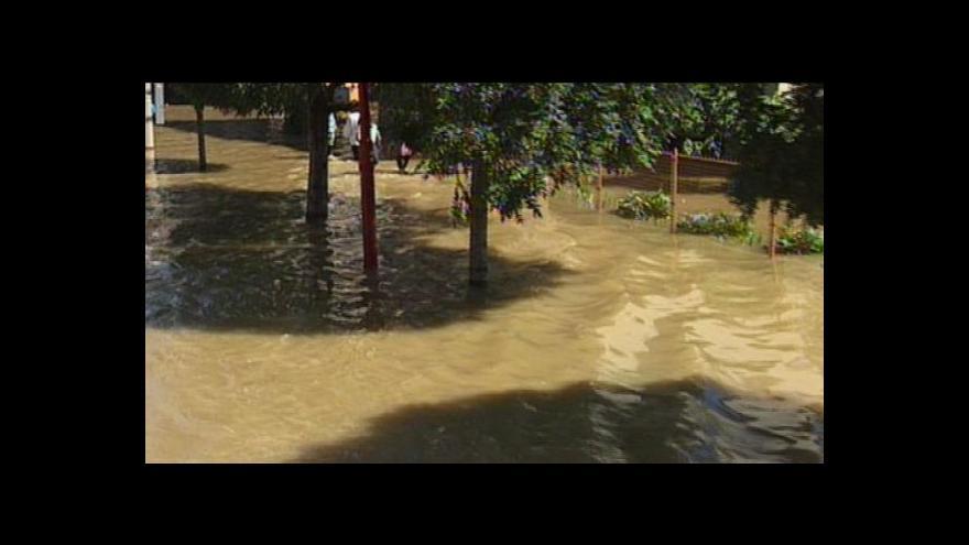 Video Povodně na východě Moravy v roce 1997