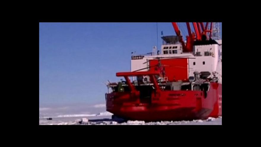 Video Záchranná operace na Antarktidě očima mořeplavce