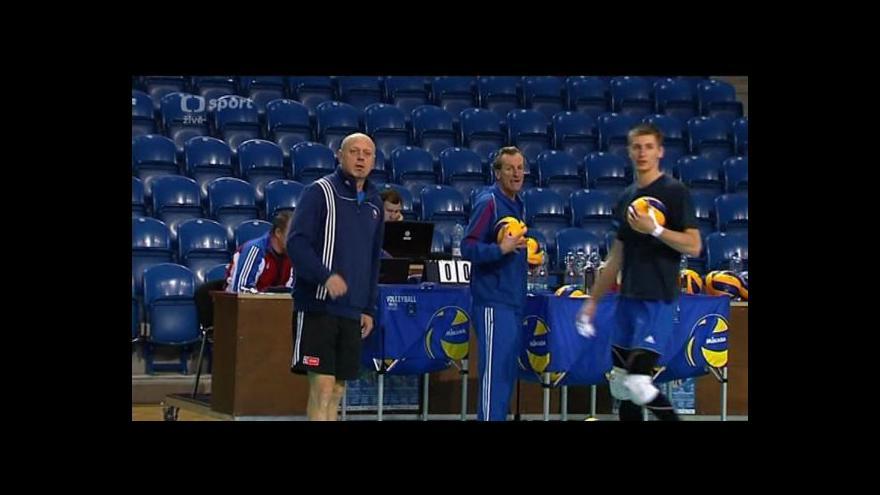 Video Volejbalisté se v Opavě připravují na kvalifikaci MS