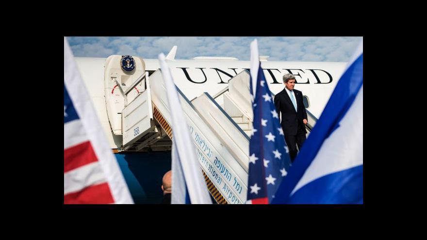 Video Kerry pokračuje v návštěvě Izraele a Palestiny