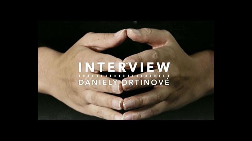 Video Interview Daniely Drtinové